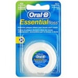 Зубная нить ORAL-B Essential floss мятная 50 м